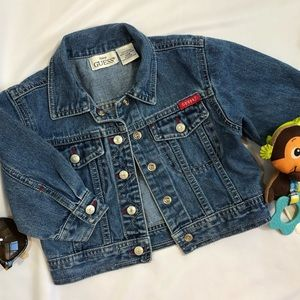 Baby Guess denim jacket 12M cotton A31